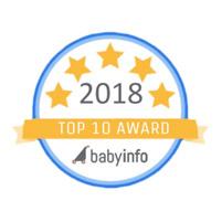 Top 10 Award - 2018 Babyinfo